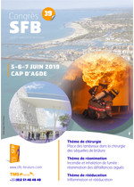 39ème Congrès SFB (Société Francaise de Brulologie)