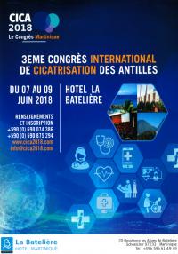 3ème Congrès international de cicatrisation des Antilles