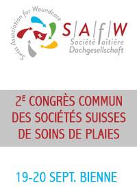 2e Congrès Commun des sociétés Suisses de Soins de Plaies