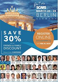 SCARS 2020, la plus grande conférence internationale sur le traitement des cicatrices