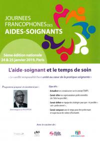Journée Francophone des aides-soignants